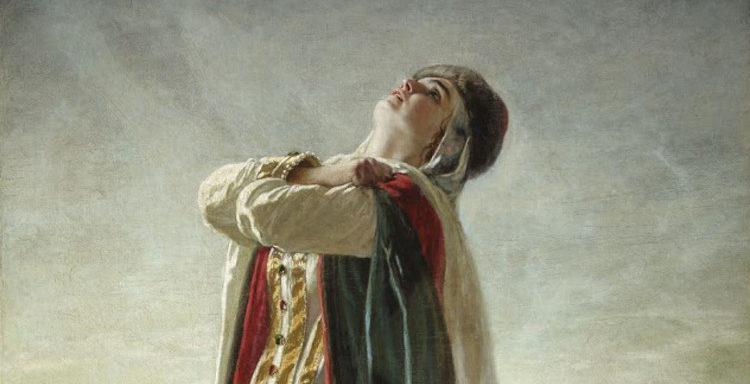 «Плач Ярославны», В. Г. Перов