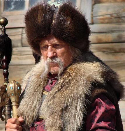 Кошевой Кирдяга - кадр из фильма Тарас Бульба, 2009 г. режиссер Владимир Бортко