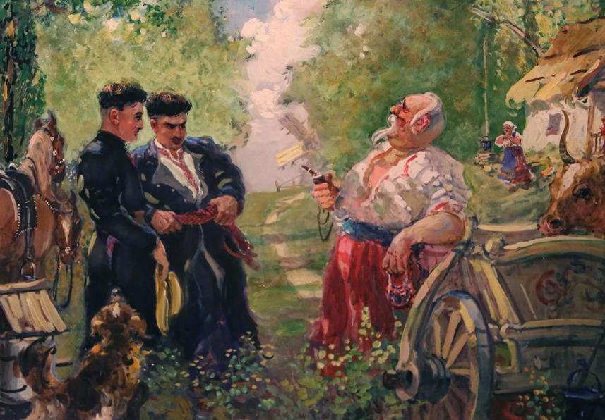 Андрий и Остап вернулись из семинарии.
