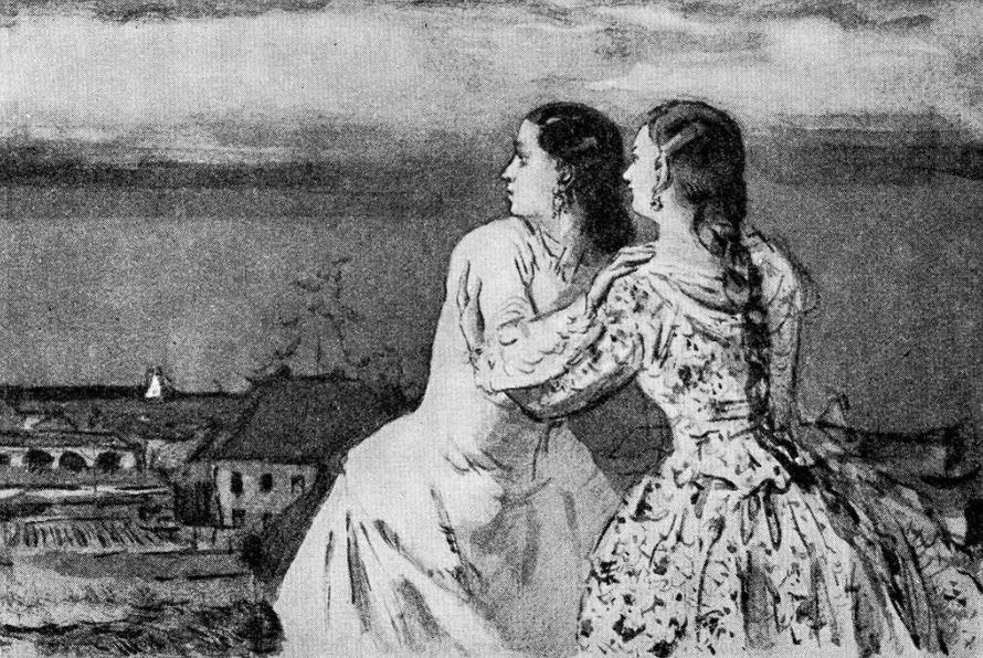 Варвара и Катерина